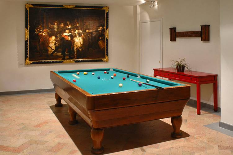 Billiard room hotel tiferno città di castello, umbria